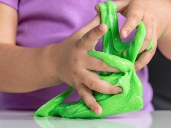 como hacer slime con shampoo y sal paso a paso