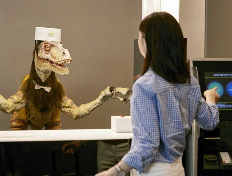 hotel robots en japon