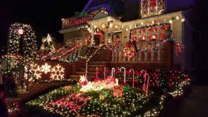 casas iluminadas de Dyker Heighs
