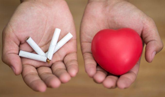 dejar de fumar y corazon