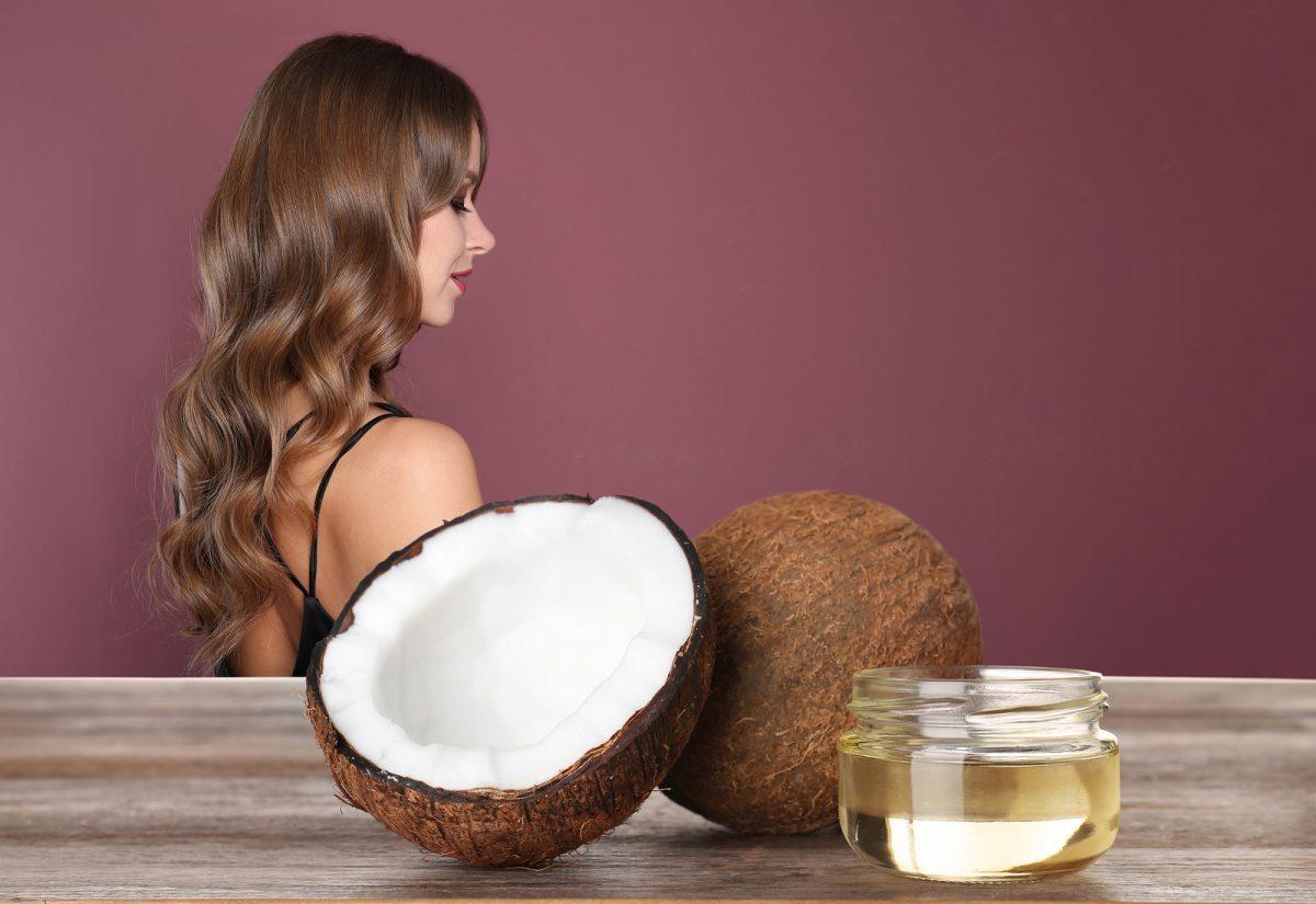 aceite para el pelo coco
