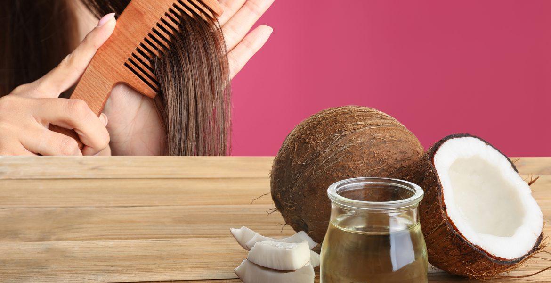 como usar el aceite de coco en el pelo