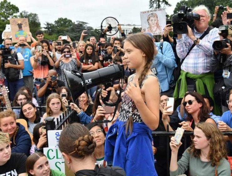 Greta Thunberg cambio climatico