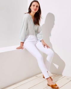outfit pantalon blanco