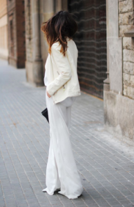 jeans blancos mujer