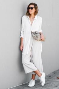 pantalon blanco en invierno