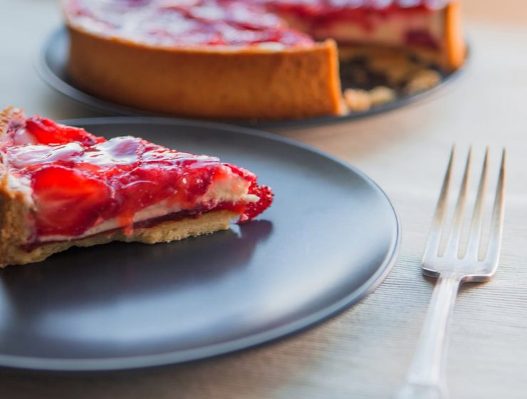 tarta de frutilla receta