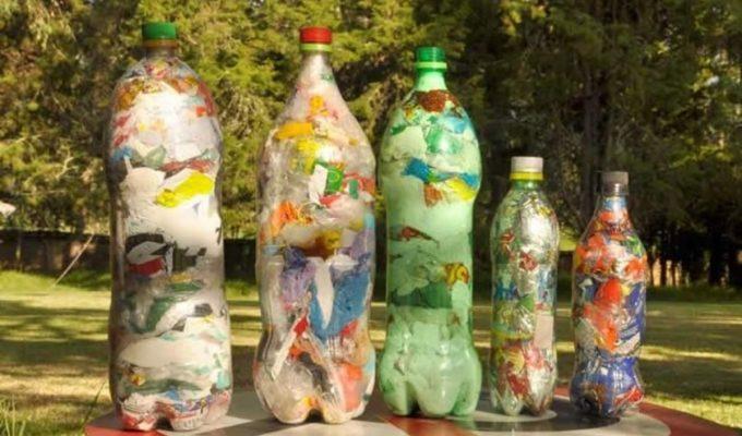 botellas de amor reciclar