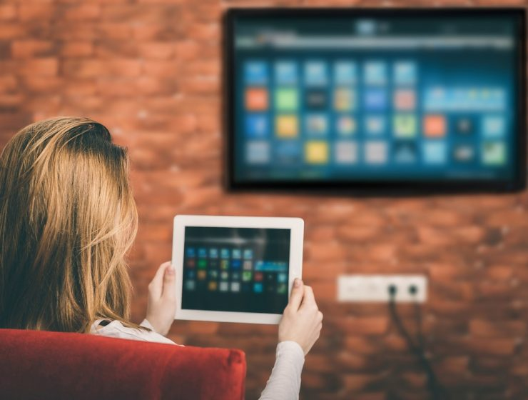 conectar tablet a tv