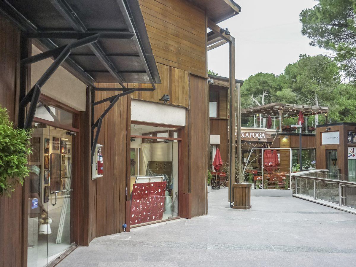 Cariló centro comercial