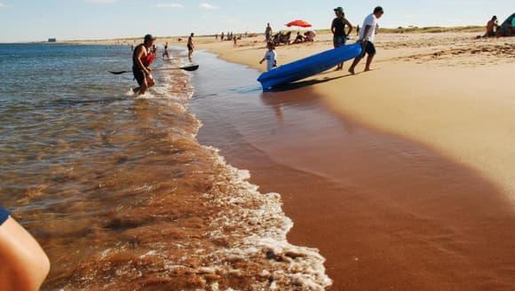 aventura en playas doradas