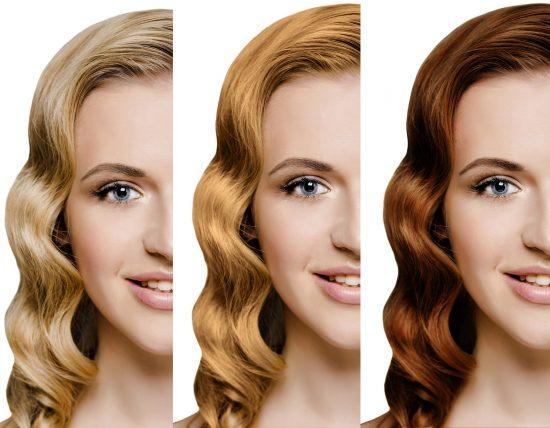 tipos de color de pelo
