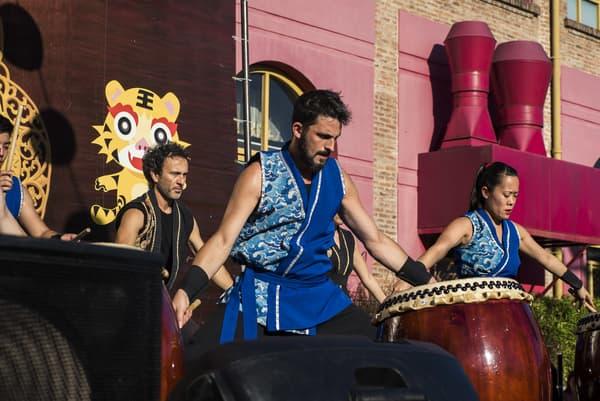 tambores chinos