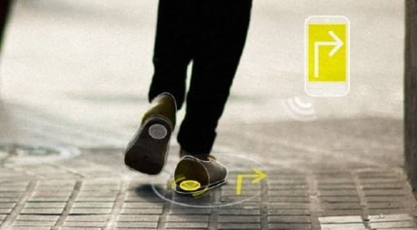 zapatos con localizador