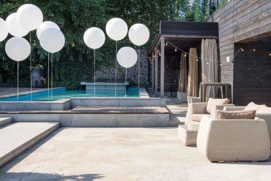 diseño de jardin moderno