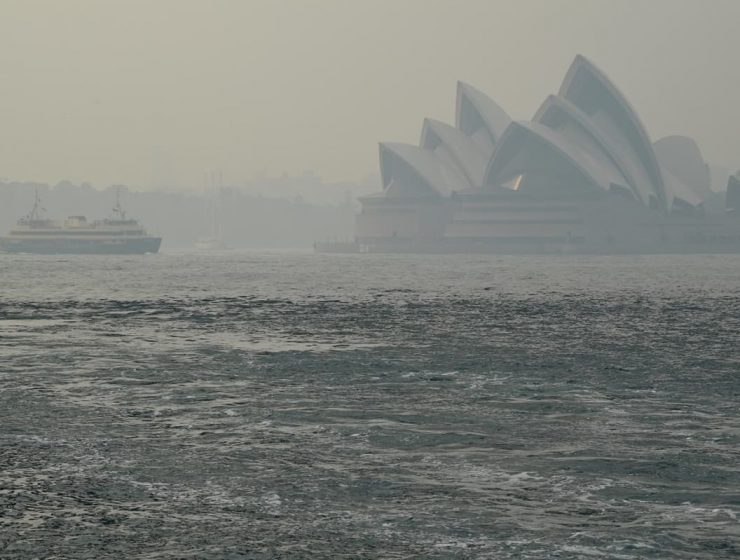 llueve en Australia