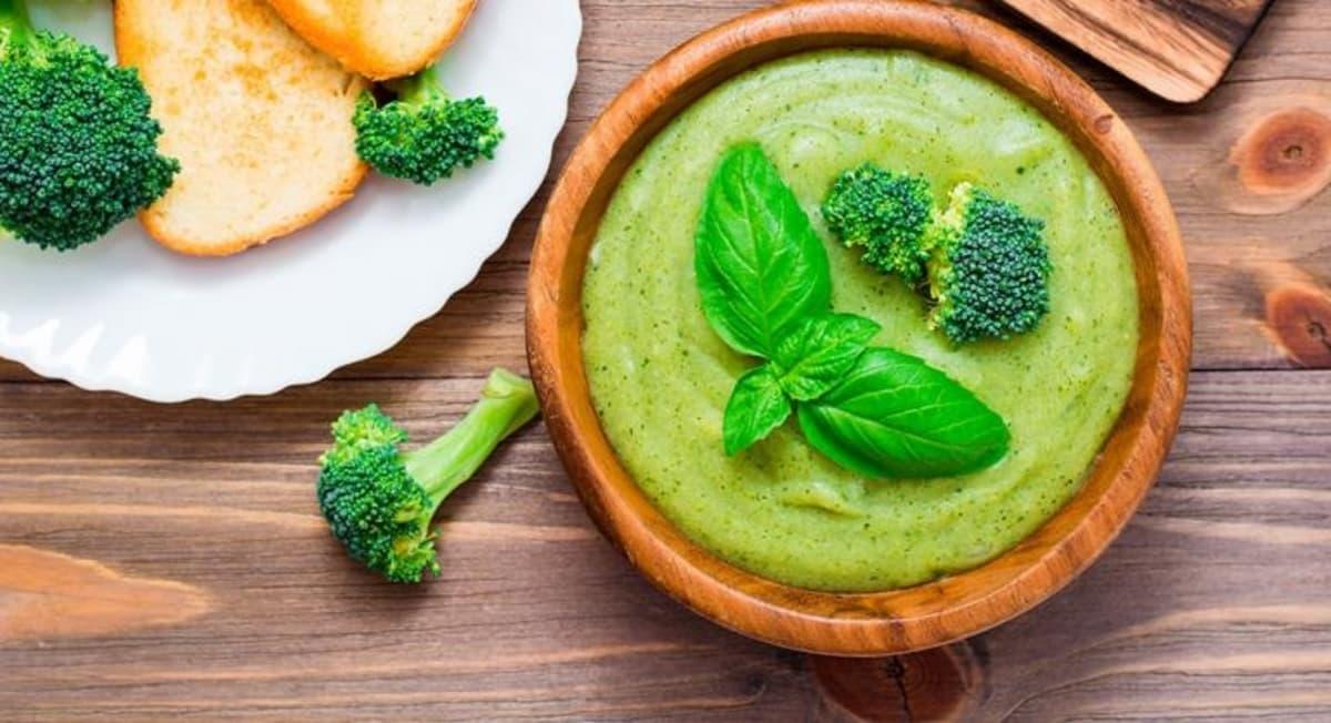 cómo hacer hummus de brocoli