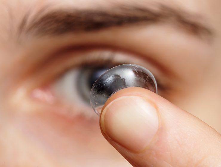 coronavirus lentes de contacto