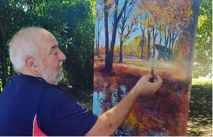 pintando en cuarentena