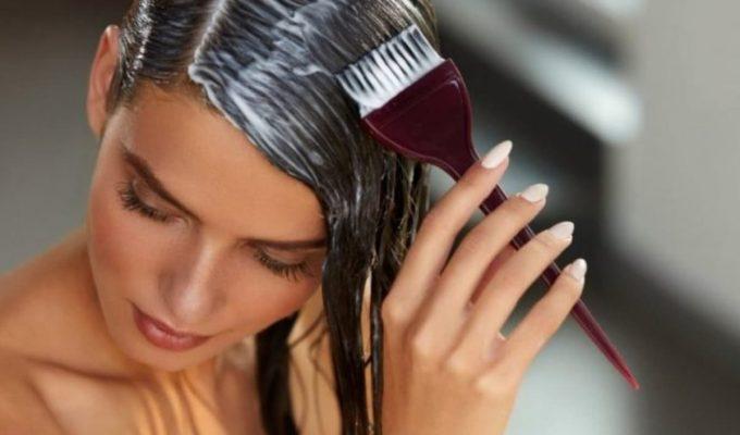 como teñirte el pelo