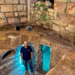 subterraneos en muro de los lamentos
