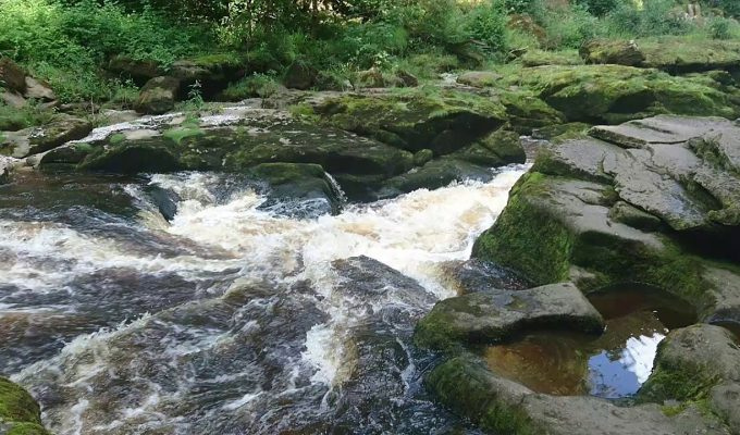 The Strid at Bolton Abbey, Yorkshire