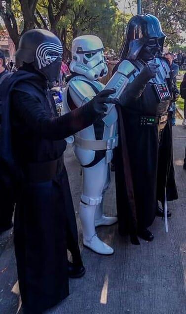 Star Wars de Azul