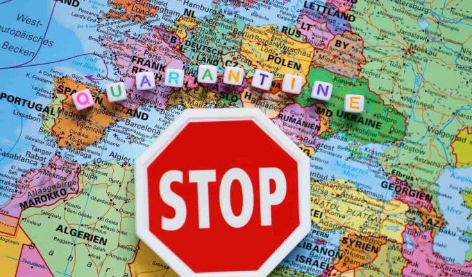 fronteras de europa