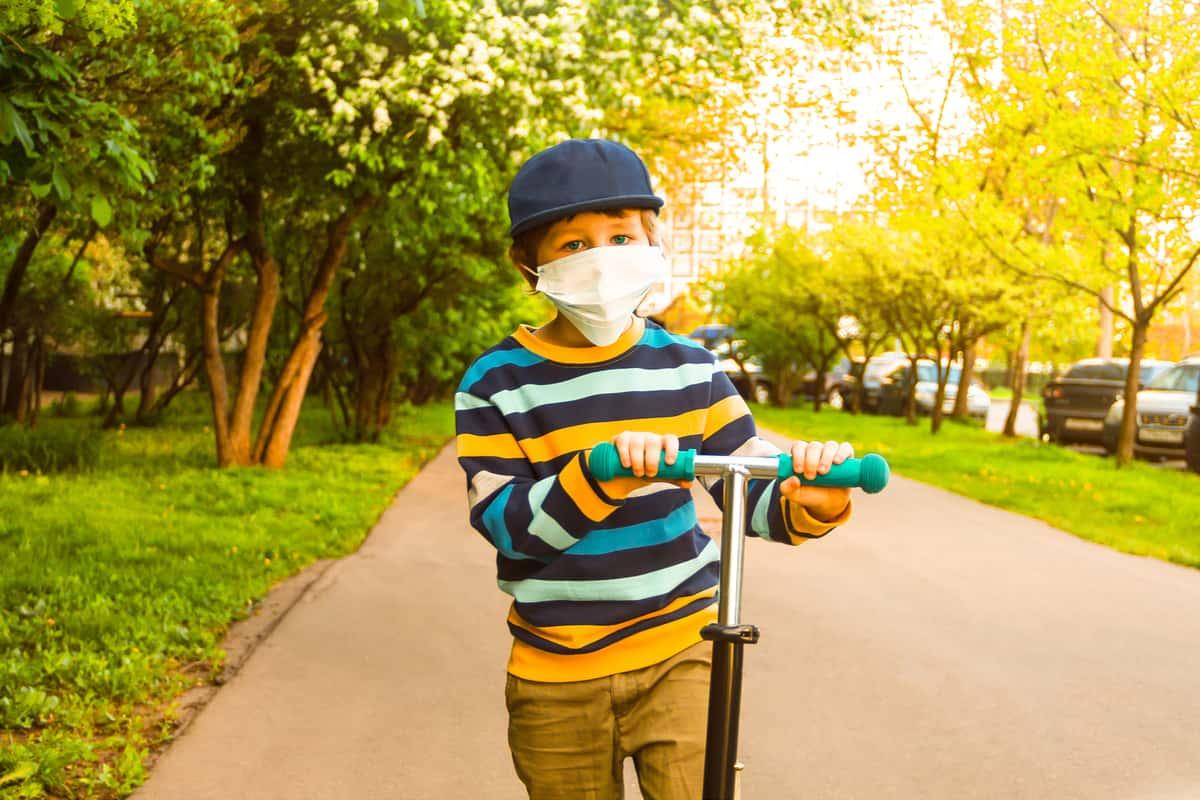 epidemia coronavirus niños