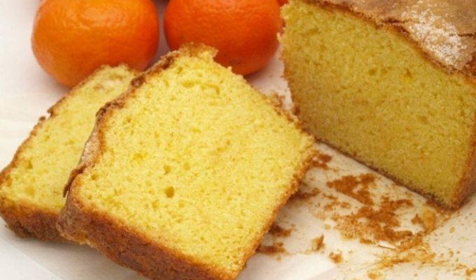 receta de budin de mandarina