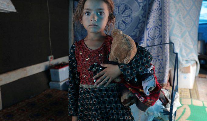 niños refugiados de Siria