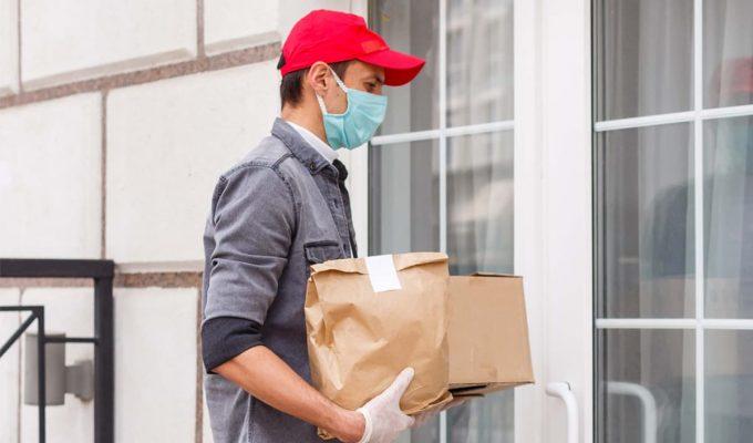 delivery coronavirus