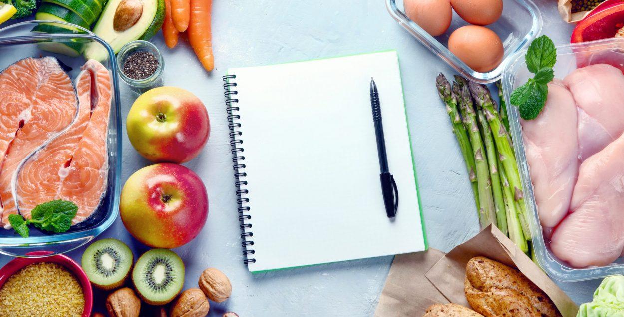 plan de alimentacion y registro
