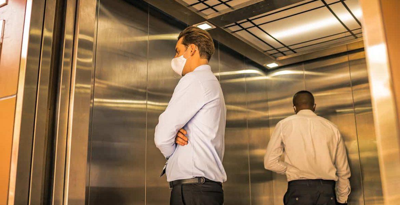 coronavirus ascensor