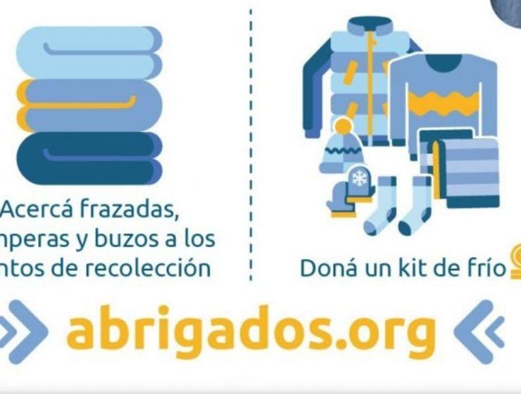 campaña # abrigados