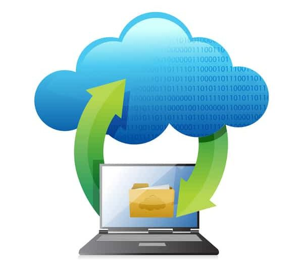 internet computadora nube
