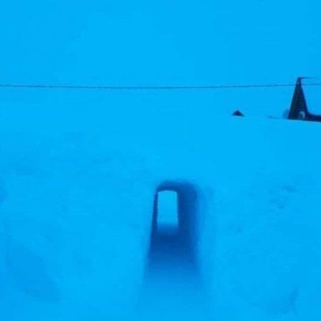 caviahue tunel hielo