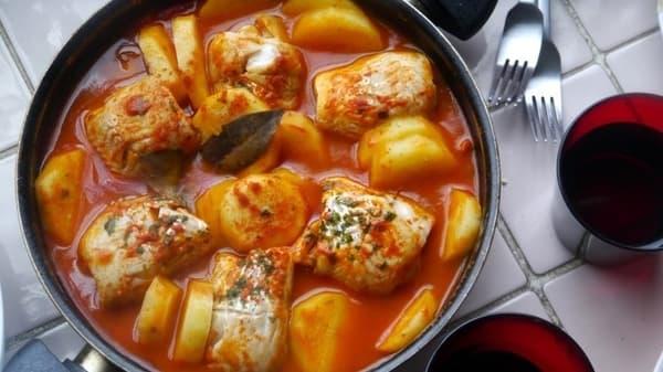 receta chupin de pescado