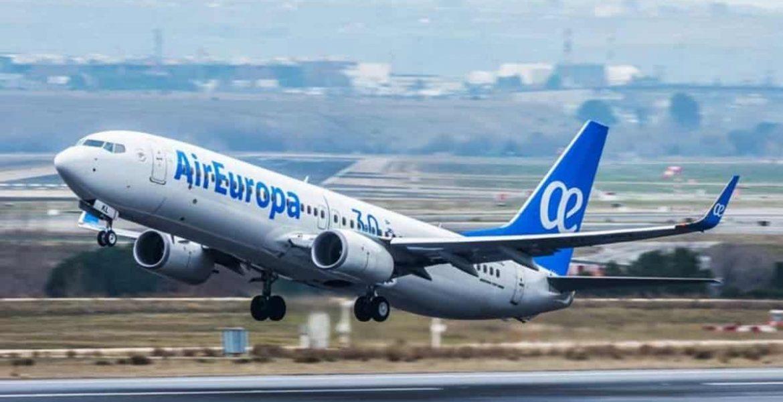 air europa cancela vuelos a america latina