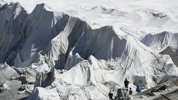 manta termica para glaciar