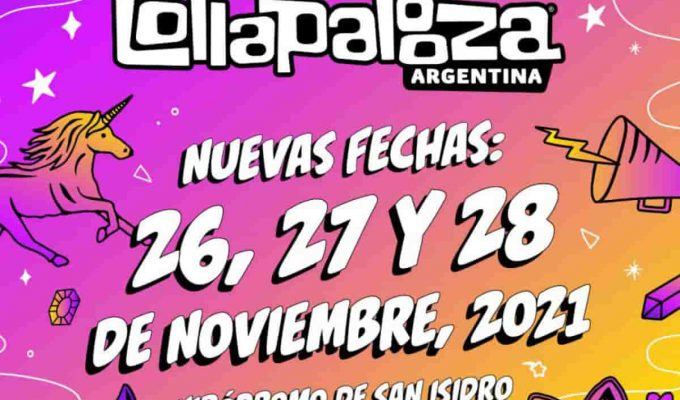 Lollapalooza Argentina: reprograman