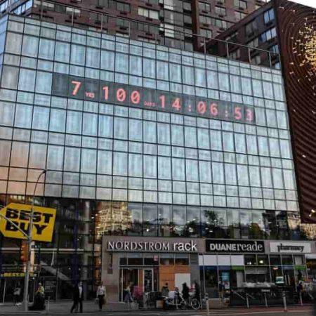 Climate Clock NY