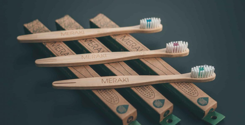 Meraki Cepillo de bambu
