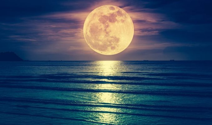 luna llena de octubre 2020