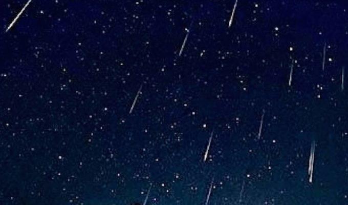 lluvia de estrellas octubre 2020
