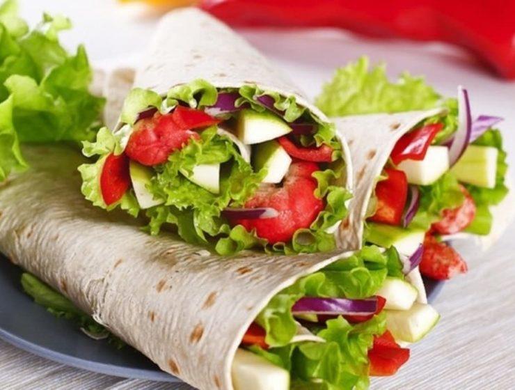 wraps vegetarianos