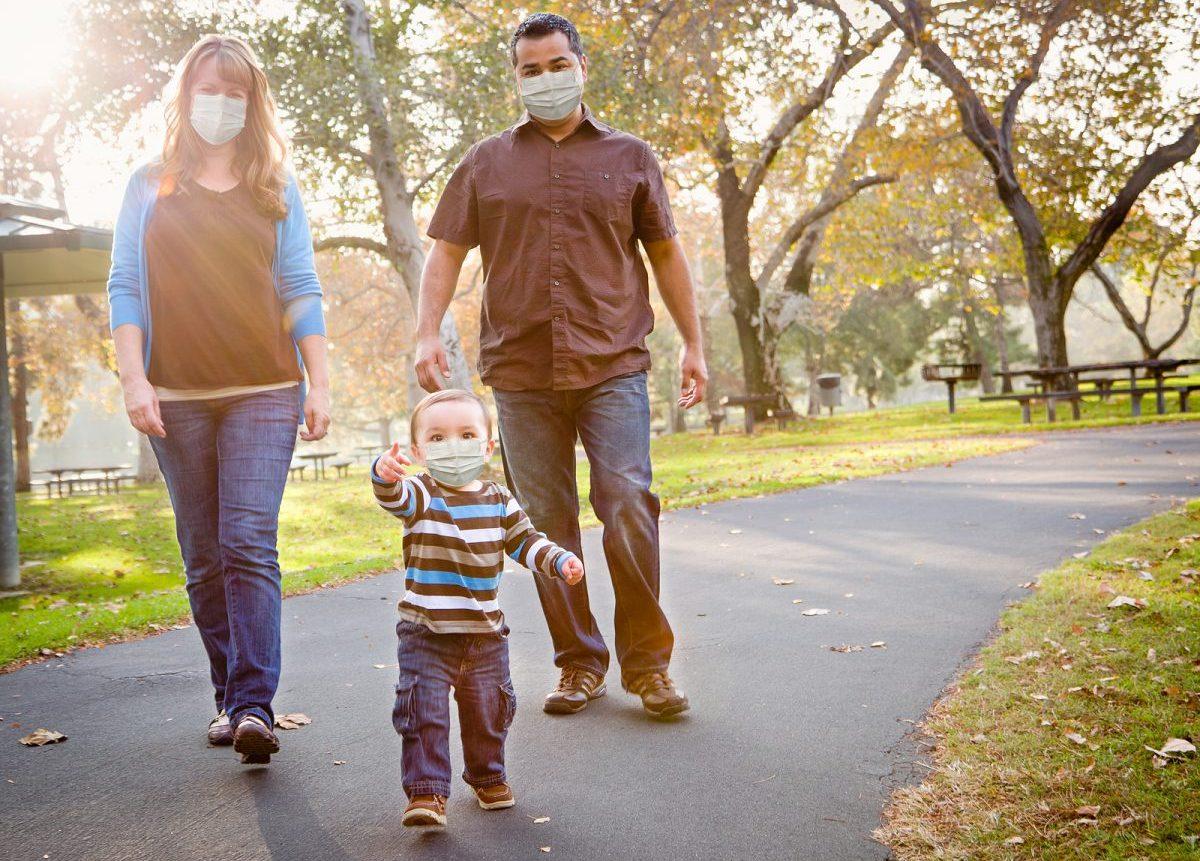 caminar precaucion coronavirus