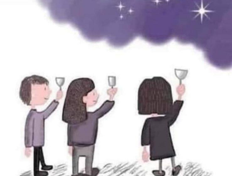 brindar por los que estan en estrellas