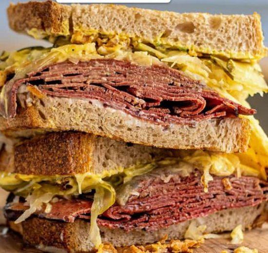 sandwich de pastron