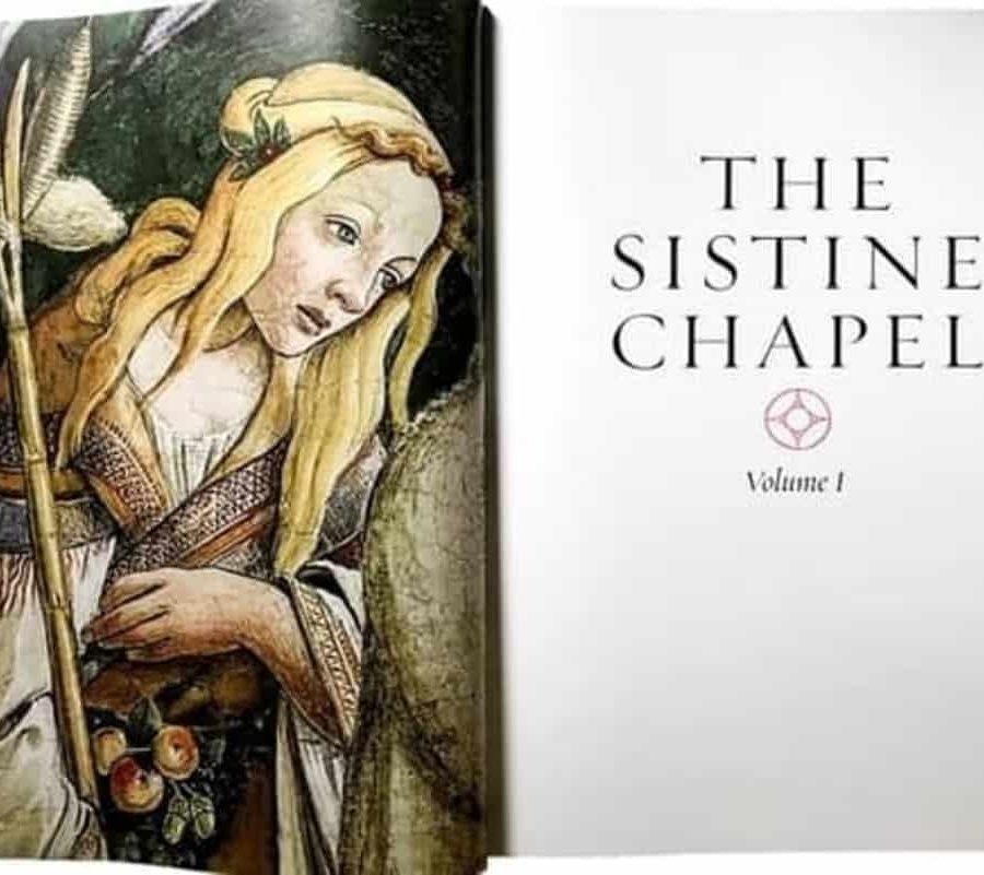 libro capilla sixtina